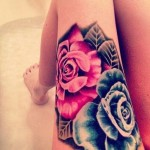 Pink Tattoos 7 150x150 - 100's of Pink Tattoo Design Ideas Picture Gallery