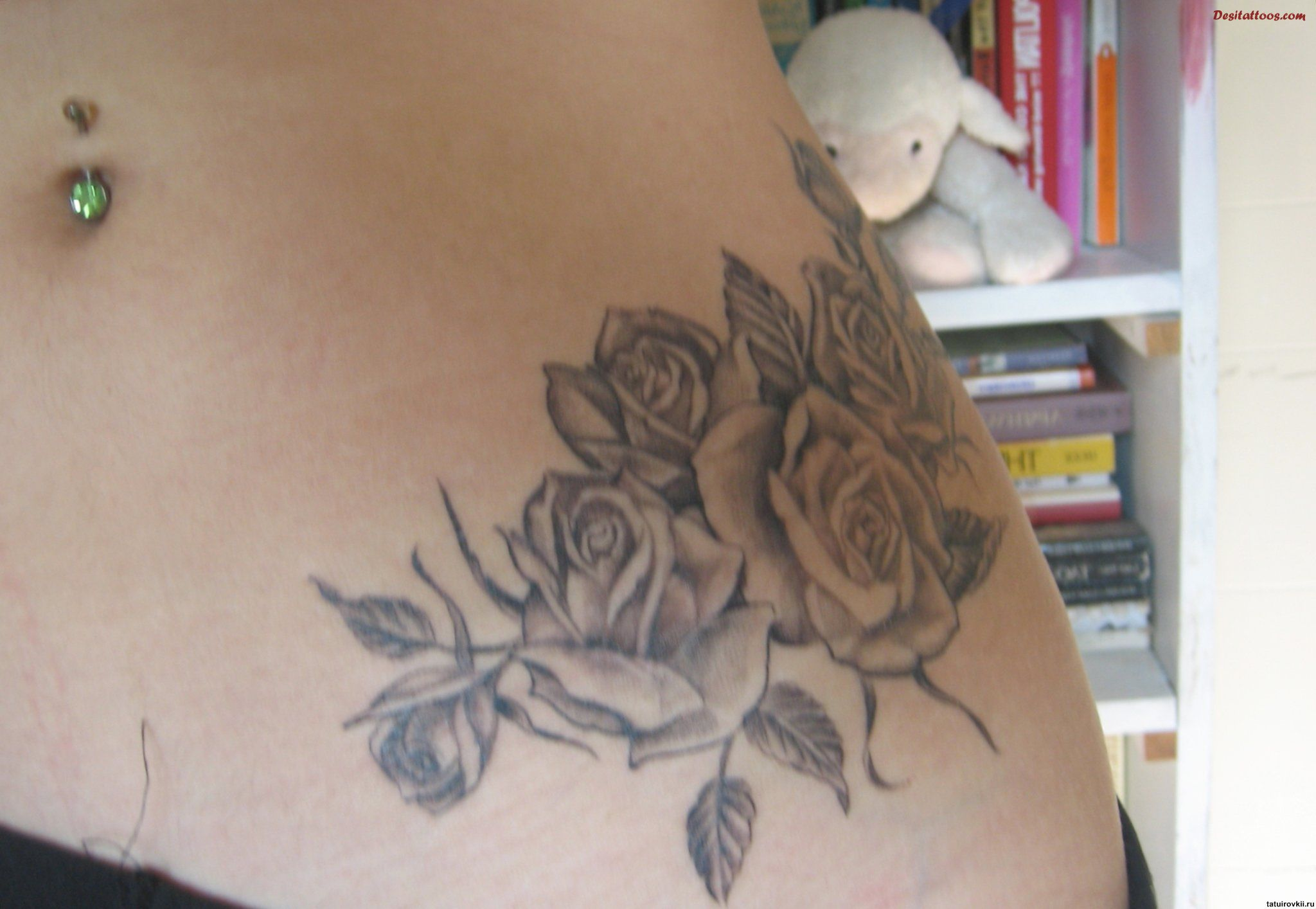 100's of Rose Tattoo Design Ideas Picture Gallery