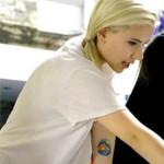 Scarlett Johansson Tattoos 1 150x150 - 100's of Scarlett Johansson Tattoo Design Ideas Picture Gallery