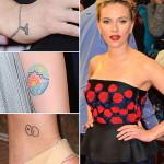 Scarlett Johansson Tattoos 2 150x150 - 100's of Scarlett Johansson Tattoo Design Ideas Picture Gallery