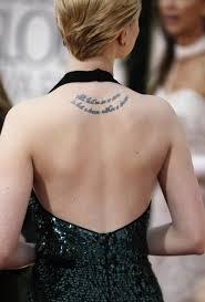 Scarlett Johansson Tattoos (6)