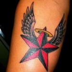 Star Tattoos 12 150x150 - 100's of Star Tattoo Design Ideas Picture Gallery