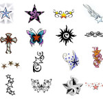 Star Tattoos 13 150x150 - 100's of Star Tattoo Design Ideas Picture Gallery