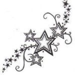 Star Tattoos 6 150x150 - 100's of Star Tattoo Design Ideas Picture Gallery
