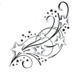 Star Tattoos 7 150x150 - 100's of Star Tattoo Design Ideas Picture Gallery
