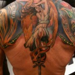 Sylvester Stallone Tattoos 1 150x150 - 100's of Sylvester Stallone Tattoo Design Ideas Picture Gallery