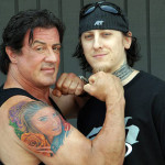 Sylvester Stallone Tattoos 13 150x150 - 100's of Sylvester Stallone Tattoo Design Ideas Picture Gallery