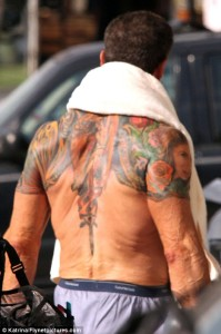Sylvester Stallone Tattoos (5)