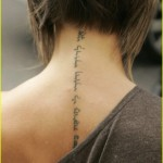 Tattoo on Back of Neck 150x150 - 100's of Thai Tattoo Design Ideas Picture Gallery