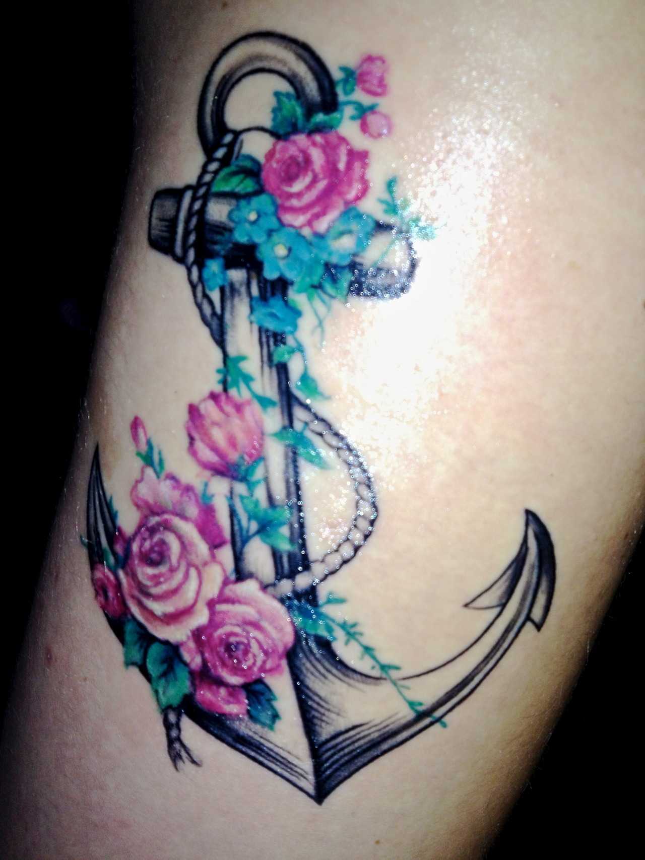100's of Anchor Tattoo Design Ideas Picture Gallery