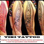 TikiTattoo cuisses 150x150 - 100's of Tikki Tattoo Design Ideas Picture Gallery