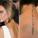Victoria Beckham Tattoos 13 150x150 - 100's of Victoria Beckham Tattoo Design Ideas Picture Gallery