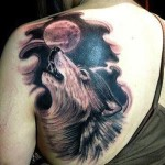 Wolf Tattoos 15 150x150 - 100's of Wolf Tattoo Design Ideas Picture Gallery
