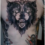 Wolf Tattoos 9 150x150 - 100's of Wolf Tattoo Design Ideas Picture Gallery