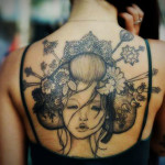 Women Tattoos 10 150x150 - 100's of Woman Tattoo Design Ideas Picture Gallery
