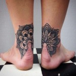 a10 150x150 - 100's of Ankle Tattoo Design Ideas Picture Gallery