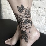 a14 150x150 - 100's of Ankle Tattoo Design Ideas Picture Gallery