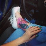 a15 150x150 - 100's of Ankle Tattoo Design Ideas Picture Gallery