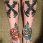 a4 150x150 - 100's of Ankle Tattoo Design Ideas Picture Gallery