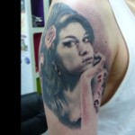 a4436dca8a5cfd5b60d7a6b09f5e50f3 150x150 - 100's of Amy Winehouse Tattoo Design Ideas Picture Gallery