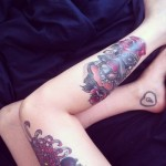 a6 150x150 - 100's of Ankle Tattoo Design Ideas Picture Gallery