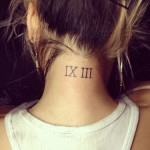 allison green roman numeral neck tattoo 500x375 150x150 - 100's of Thai Tattoo Design Ideas Picture Gallery