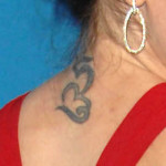 alyssa milano neck tattoo 150x150 - 100's of Alyssa Milano Tattoo Design Ideas Picture Gallery