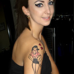 amy winehouse airbrush tattoos by tattoos for now 150x150 - 100's of Amy Winehouse Tattoo Design Ideas Picture Gallery