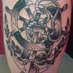 an 150x150 - 100's of Anchor Tattoo Design Ideas Picture Gallery