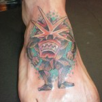 angry tiki 150x150 - 100's of Tikki Tattoo Design Ideas Picture Gallery