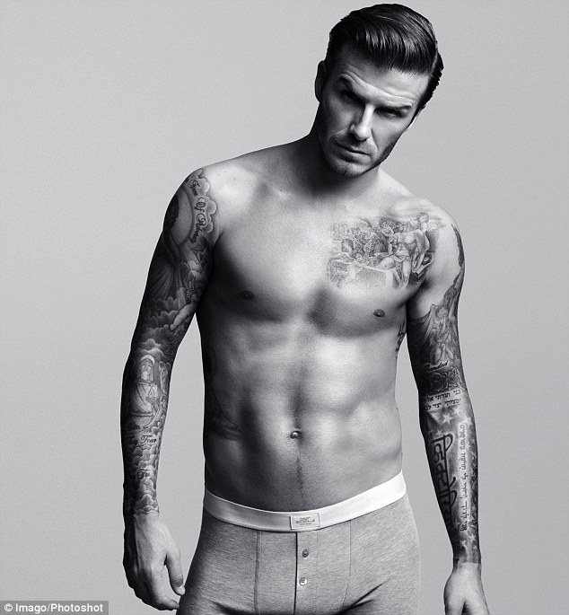 article 2083408 0F5CBA4100000578 168 634x685 - 100's of David Beckham Tattoo Design Ideas Picture Gallery