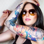 beautiful tattoo girls wallpaper 150x150 - 100's of Girl Tattoo Design Ideas Picture Gallery