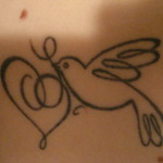 bird with heart tattoo 302681 150x150 - 100's of Heart Tattoo Design Ideas Picture Gallery