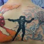 brain tattoos 14 150x150 - 100's of Brain Tattoo Design Ideas Picture Gallery