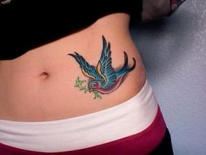 colourful bird tattoo1 300x225 - colourful-bird-tattoo1