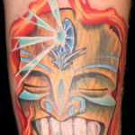 cool tiki tattoo 150x150 - 100's of Tikki Tattoo Design Ideas Picture Gallery