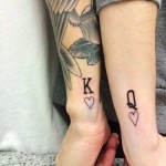 couple tattoos 1 150x150 - 100's of Couple Tattoo Design Ideas Picture Gallery