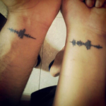 couple tattoos 2 150x150 - 100's of Couple Tattoo Design Ideas Picture Gallery