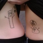 couple tattoos 3 150x150 - 100's of Couple Tattoo Design Ideas Picture Gallery