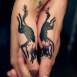 couple tattoos 9 150x150 - 100's of Couple Tattoo Design Ideas Picture Gallery