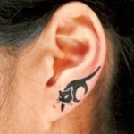 ear tattoos 5 150x150 - 100's of Ear Tattoo Design Ideas Picture Gallery