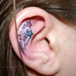 ear tattoos 6 150x150 - 100's of Ear Tattoo Design Ideas Picture Gallery