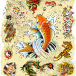 ed hardy japanese tattoo designs 150x150 - 100's of Japases Tattoo Design Ideas Picture Gallery