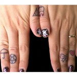 finger Tattoos 12 150x150 - 100's of Finger Tattoo Design Ideas Picture Gallery
