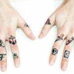 finger Tattoos 3 150x150 - 100's of Finger Tattoo Design Ideas Picture Gallery