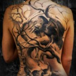 full tattoo designs for women at the back 150x150 - 100's of Back Tattoo Design Ideas Picture Gallery