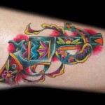gun tattoos 5 150x150 - 100's of Gun Tattoo Design Ideas Picture Gallery