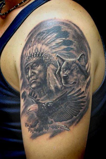indian tattoos 4 - 100's of Indian Tattoo Design Ideas Picture Gallery