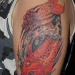 koi5 150x150 - 100's of Koi Tattoo Design Ideas Picture Gallery