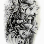 koi fish by engi01 150x150 - 100's of Koi Tattoo Design Ideas Picture Gallery